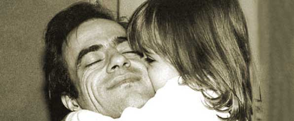 Enrique con su hija